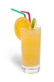 Fresh orange juice with ice Royalty Free Stock Photography