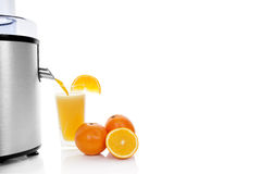 Fresh orange juice. Stock Photo