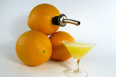 Fresh Orange Juice Stock Image