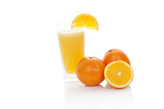 Fresh orange juice. Stock Images