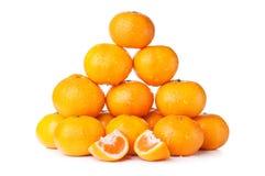 Fresh orange mandarin Stock Photo