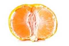Fresh orange mandarin Royalty Free Stock Photos