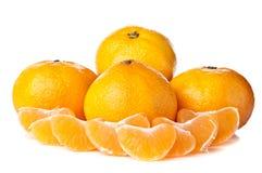 Fresh orange mandarin Royalty Free Stock Photo