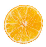 Fresh orange mandarins isolated on a white background Stock Image