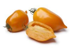 Fresh orange pepper- tomatoes Stock Photo