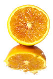 Fresh orange pulp Royalty Free Stock Photography