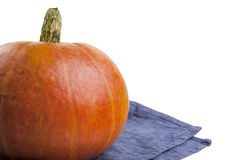 Fresh orange pumpkin Stock Photo