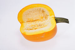 Fresh orange pumpkin Royalty Free Stock Photo