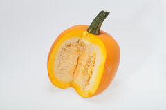 Fresh orange pumpkin Royalty Free Stock Photos