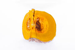 Fresh orange pumpkin  Stock Images