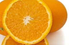 Fresh orange selection. Stock Photo