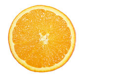 Fresh Orange Slice Stock Image