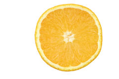 Fresh orange slice Royalty Free Stock Photos