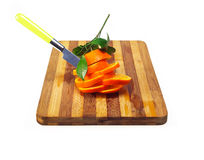 Fresh orange sliced Royalty Free Stock Photography