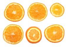 Fresh orange slices Stock Photo