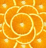 Fresh orange slices background Stock Photos