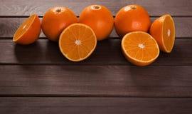 Fresh orange slices Royalty Free Stock Photo