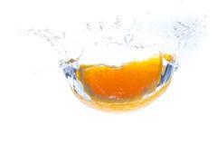 Fresh orange splash Stock Photo