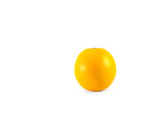 Fresh orange. Fresh orange on white background Stock Photo