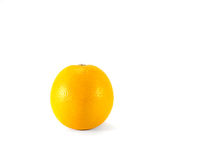 Fresh orange. Fresh orange on white background Royalty Free Stock Photos