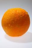 Fresh orange  on white Stock Photo
