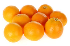 Fresh Oranges Stock Image