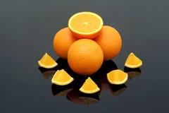 fresh oranges Στοκ φωτογραφία με δικαίωμα ελεύθερης χρήσης