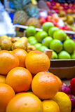 Fresh Oranges. For sale in a fruit store stock photography