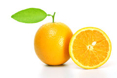 Fresh oranges Royalty Free Stock Image