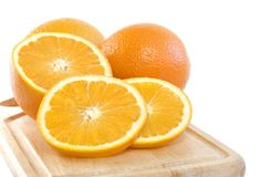 Fresh Oranges Stock Image