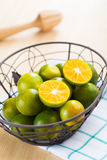 Fresh oranges in a basket. Fresh oranges for healthy in a basket Stock Image