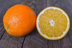 Fresh oranges Royalty Free Stock Image