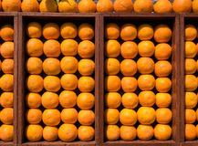 Fresh Oranges Display Royalty Free Stock Images