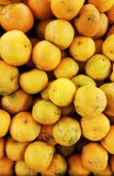 Fresh oranges. In the market royalty free stock photo