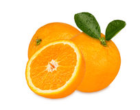 Fresh oranges. A group of fresh oranges royalty free stock photography