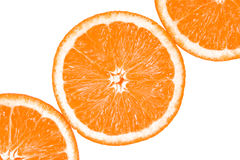 Fresh Oranges Halves Stock Photo