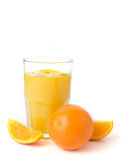 Fresh Oranges and Juice Stock Photos