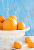 Fresh Oranges and Mandarins Stock Image