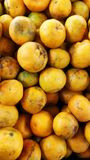 Fresh oranges. In the market royalty free stock images