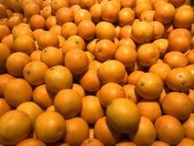 Fresh Oranges on a market stock image