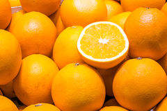 Fresh oranges for sale Royalty Free Stock Images