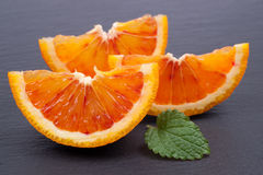 Fresh oranges Stock Images