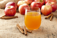 Fresh Organic Apple Cider Royalty Free Stock Image