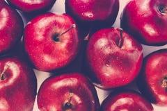 Fresh organic apple in pop art tone Royalty Free Stock Photos