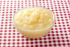 Fresh Organic AppleSauce Royalty Free Stock Images