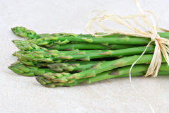 Fresh organic asparagus Royalty Free Stock Images