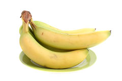Fresh organic bananas Royalty Free Stock Photo