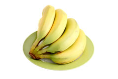 Fresh organic bananas Stock Photography