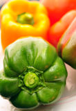Fresh organic bell peppers Royalty Free Stock Image