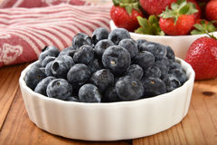 Fresh organic berries Royalty Free Stock Photo